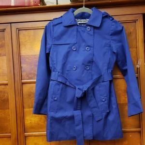 Jacadi Paris Navy Blue Girl's  Coat Size 10A